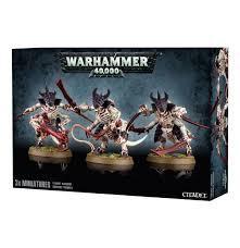 Warriors 40,000 - Tyranid Warriors