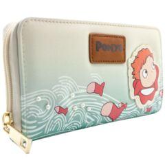 Studio Ghibli Ponyo Goldfish Princess Cream zippered Clutch