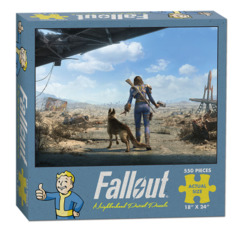 Fallout: Neighborhood Patrol (550 Piece Puzzle)