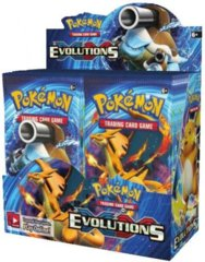 XY EVOLUTIONS BOOSTER BOX