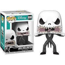 #808 Nightmare Before Christmas - Jack Scary Face