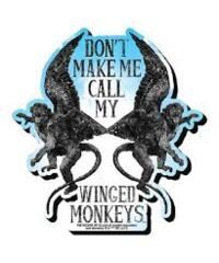 Magnet - Chunky - Winged Monkeys