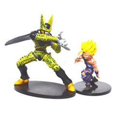 Cell Vs Gohan - 2pc Set - Dragon Ball Z