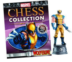 Marvel Chess Pieces: Wolverine (White Knight)