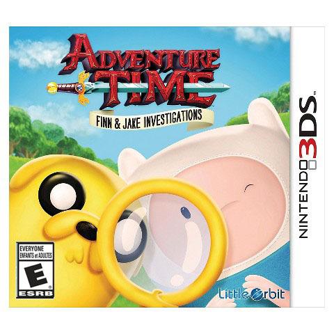 Adventure Time - Finn & Jake Investigations (3DS)