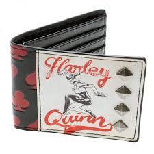 Harley Quinn - Studded Bifold