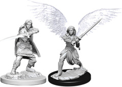 D&D - Nolzur's Marvelous Unpainted Miniatures - Aasimar Fighter