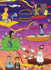 Bob's Burgers - Burger Dreams - 1000 Piece Puzzle