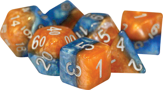 Gate Keeper Dice - Halfsies - Flame and Frost