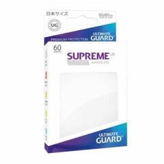 Ultimate Guard Supreme UX Sleeves Japanese Size Matte White 60Ct