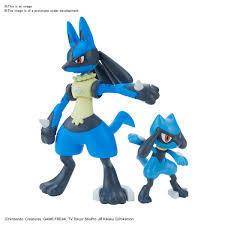 Pokemon - Riolu & Lucario Model Kit