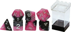Gate Keeper Dice - Halfsies - Glamour - 7 Dice Set