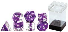 Gate Keeper Dice - Neutron Dice - Viloet - 7 Dice Set