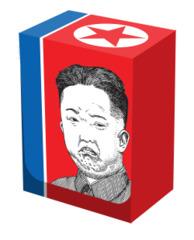 Deck Box - Grumpy Kim (Legion)