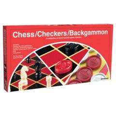 Chess Checkers Backgammon