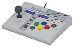 Super Advantage SNES Asciiware Fight Stick