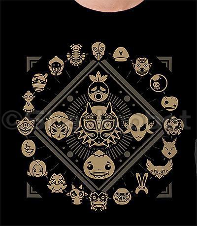 Mask Collectors Chest T-Shirt