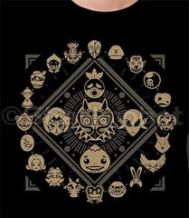 Mask Collector's Chest T-Shirt