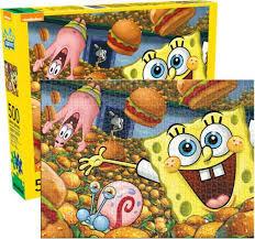 Spongbob Squarepants - 500 Piece Puzzle