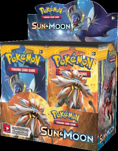 Pokemon TCG: GX Sun & Moon Booster Display (36)