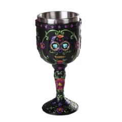 Day of the Dead Skull Goblet 12234