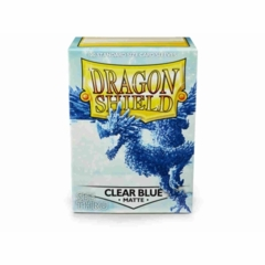Clear Blue - Standard Boxed Sleeves (Dragon Shield) - 100 ct
