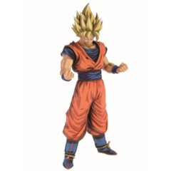 Dragon Ball Z Grandista Manga Dimensions Super Saiyan Son Goku Collectible Statue