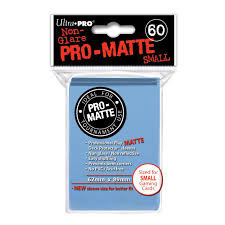 Ultra Pro Pro-Matte Small Sleeves - Light Blue (60ct)