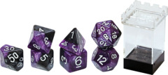 Gate Keeper Dice - Halfsies - Panther - 7 Dice Set