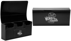 Black Triple Deck Box (Monster)