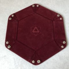 Folding Hex Dice Tray