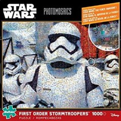 First Order Stormtroopers - Star Wars Photomosaics (1000 Piece Puzzle)