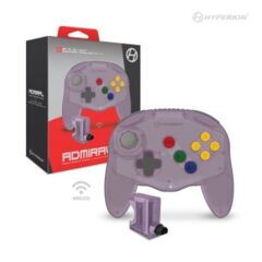 (Hyperkin) Admiral Wireless N64 Controller (Fighter Style) - Amethyst
