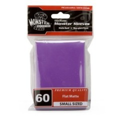 60ct Monster Flat Matte Deck Protectors - Purple