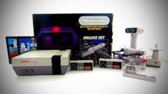 Nintendo System NES Deluxe Set