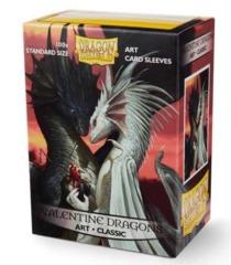 Art Sleeves: Valentine Dragons - Standard Box Sleeves - 100ct