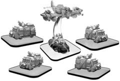 Monsterpocalypse - Scrapper and Scavenger Vans