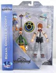 Kingdom Hearts Select: Roxas, Donald and Goofy