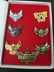 League of Legends - 7 Pin Set