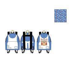 Alice in Wonderland - Detachable Change Pouch (Disney Loungefly) - Mini Backpack