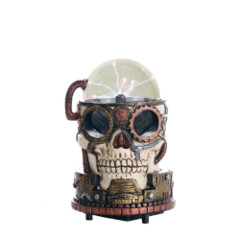 Steampunk Plasma Skull