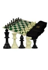 Vinyl Roll Up Tournament Chess Set