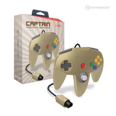 (Hyperkin) Captain Premium N64 Controller - Gold