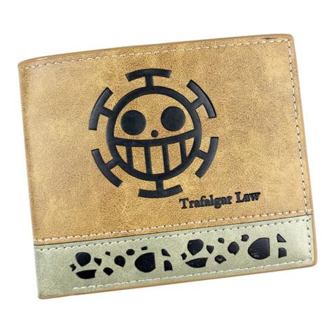2 Tone Wallet: One Piece - Trafagar Law