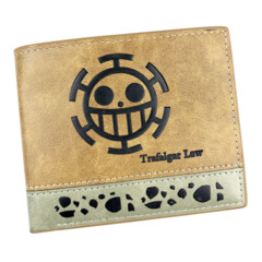 2 Tone Wallet: One Piece - Trafagar Law
