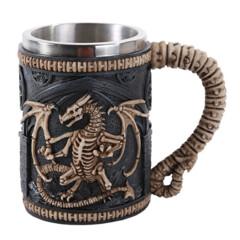 Dragon Tankard - Skeleton Dragon 11456