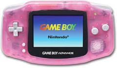 GBA Gameboy Advance Handheld System: Fushia