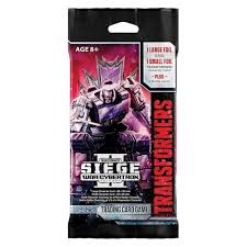 Transformers TCG - War for Cybertron - Siege II - Booster