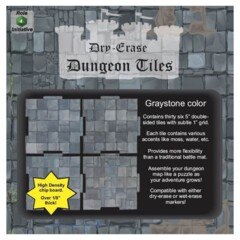 Dungeon Tiles - Dry Erase - Graystone: 5