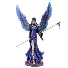 Dark Angel Fairy w/ Scyth - 12.25 in. - 92074